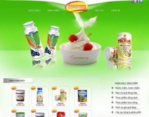 Thiết kế website thực phẩm nước uống chuyên nghiệp nhất
