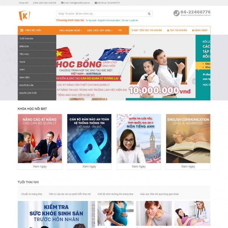 AKRwebvietC125 – kienthucviet.vn Giải pháp học và thi trực tuyến