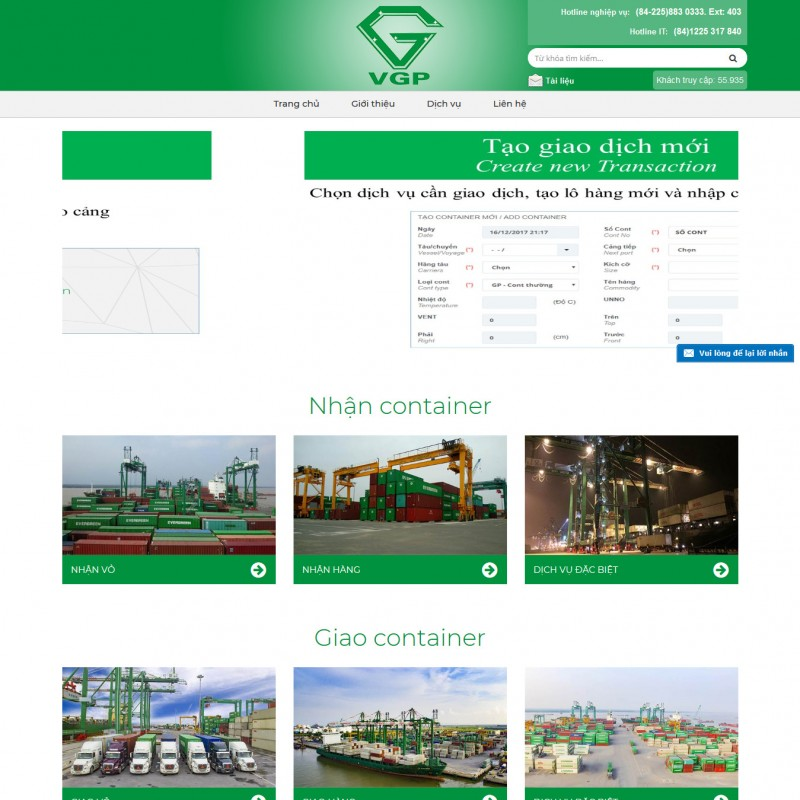 AKRwebvietC136 – eport.vipgreenport.com.vn – CÔNG TY CỔ PHẦN CONTAINER VIỆT NAM