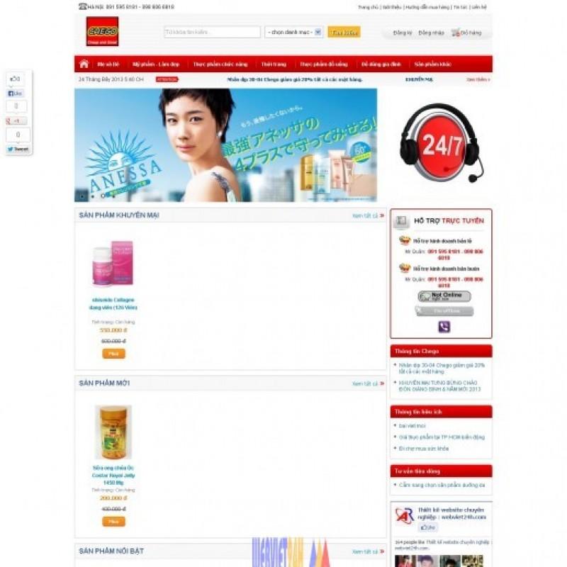 AKRwebvietC03 – Thiết kế website Chego.vn