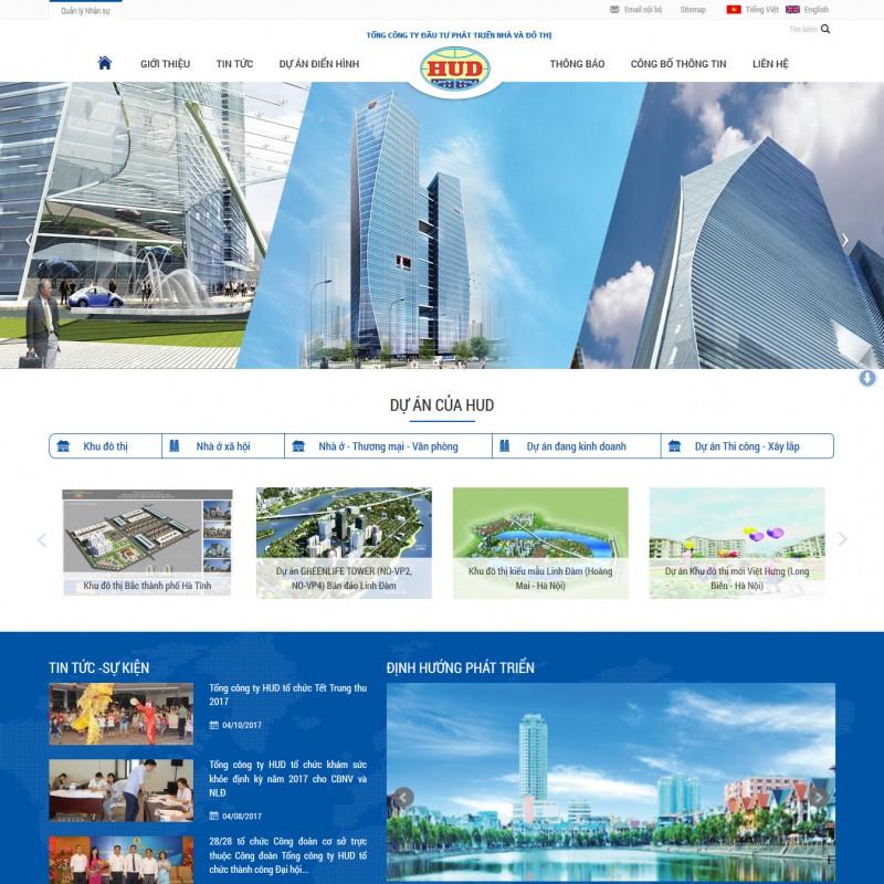 AKRwebvietC131 – Tổng công ty đầu tư phát triển nhà và đô thị – www.hud.com.vn