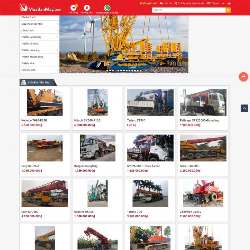AKRwebvietC142 – muabanmay.com – Mua bán máy, máy khoan cọc nhồi, cẩu bánh xích, cẩu bánh lốp, cẩu tự hành