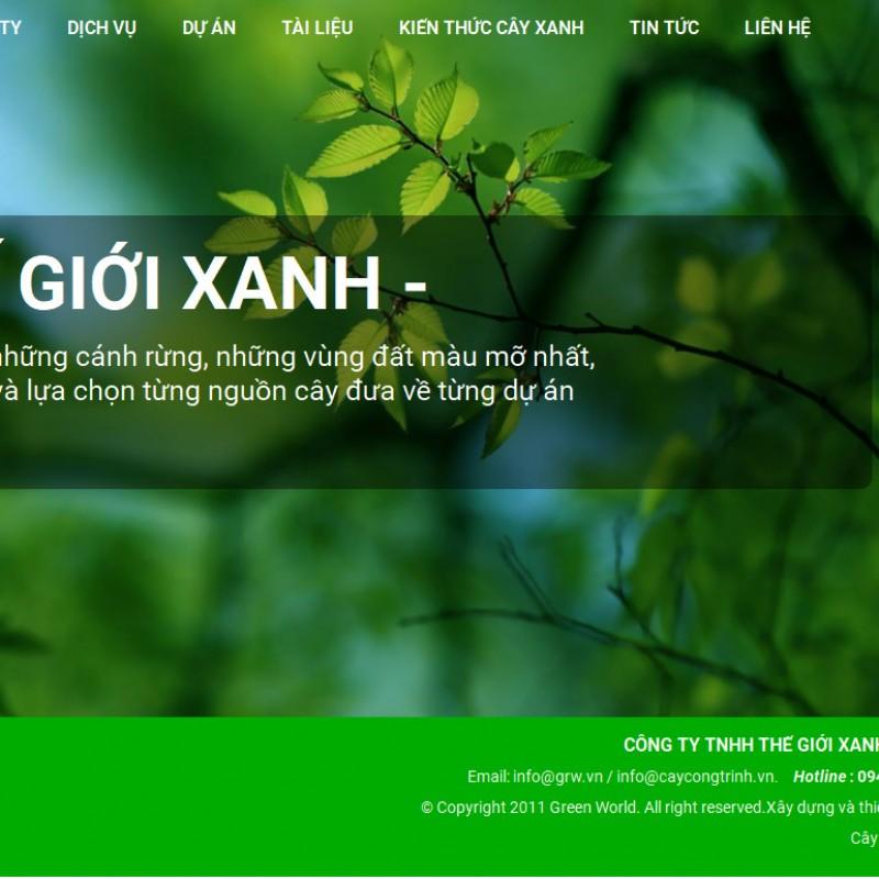 AKRwebvietC152 – grw.vn – CÔNG TY TNHH THẾ GIỚI XANH – GREEN WORLD CORP