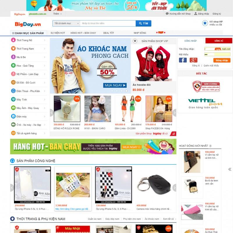 AKRwebvietC71 – Bigday.vn – Trang mua bán online giá tốt nhất thị trường